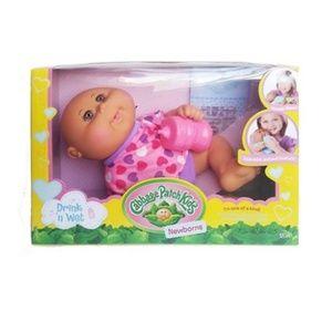 Cabbage Patch Kids Drink 'n Wet Bald Newborns